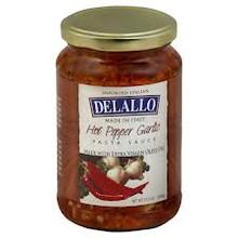 Garlic, Oil & Hot Pepper, 6 of 12.3 OZ, De Lallo