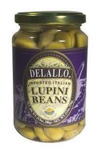 Beans, Lupini, Imported, 12 of 13 OZ, De Lallo