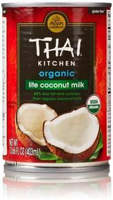 Coconut Milk, Lite, 12 of 13.66 OZ, Thai Kitchen