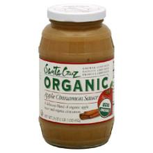 Apple Cinnamon, 12 of 23 OZ, Santa Cruz Organic
