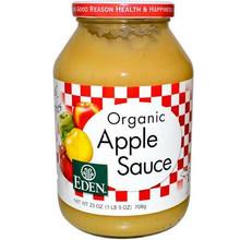 Applesauce, 12 of 25 OZ, Eden Foods