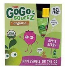 Apple Berry, 12 of 4 of 3.2 OZ, Gogo Squeez