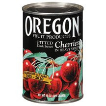 Bing Cherries, Pitted, Heavy Syrup, 8 of 15 OZ, Oregon Fruit