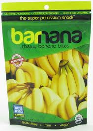 Banana Bites, Chewy, 12 of 3.5 OZ, Barnana