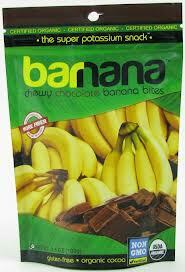 Banana Bites,Chocolate,Chewy, 12 of 3.5 OZ, Barnana
