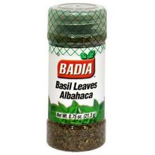 Basil, Sweet, 12 of 0.75 OZ, Badia Spices