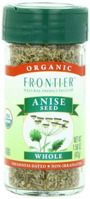 Anise Seed, Whole, 1.44 OZ, Frontier Natural Products