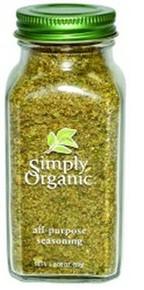 All Purpose Seasoning, 6 of 2.08 OZ, Simply Organic