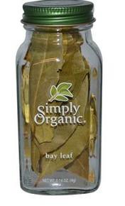 Bay Leaf, 6 of 0.14 OZ, Simply Organic