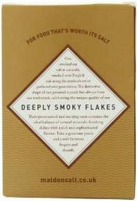 Flakes, Smoked Sea Salt, 6 of 4.4 OZ, Maldon Crystal Salt Co