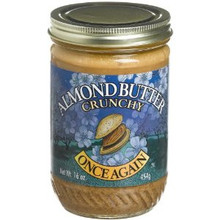 Almond Butter Crunchy No Salt, 12 of 16 OZ, Once Again