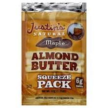 Almond, Maple, 60 of 1.15 OZ, Justin'S