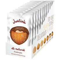 Chocolate Hazelnut, 60 of 1.15OZ, Justin'S