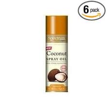Coconut, 6 of 6 OZ, Spectrum Naturals