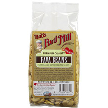 Fava Beans, 4 of 20 OZ, Bob'S Red Mill