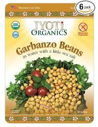 Garbanz, 6 of 10 OZ, Jyoti Organics