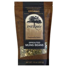 Mung Beans, Sprouted, 6 of 10 OZ, Tru'Roots