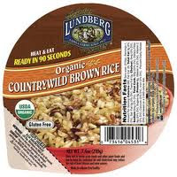Brown Rice, Countrywild, 12 of 7.4 OZ, Lundberg