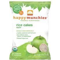 Apple & Brown Rice, 10 of 1.4 OZ, Happy Munchies