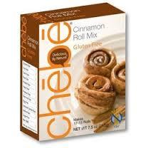 Cinnamon Roll, DF, 8 of 7.5 OZ, Chebe