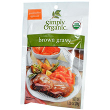 Gravy, Brown, 12 of 1 OZ, Simply Organic