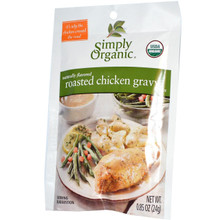 Gravy, Roasted Chicken, 12 of 0.85 OZ, Simply Organic