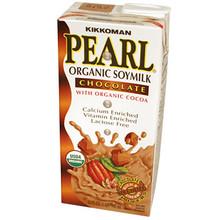 Organic Soymilk Chocolate 32 oz  From Kikkoman