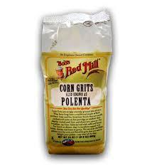 Corn Grits (Polenta), 4 of 24 OZ, Bob'S Red Mill