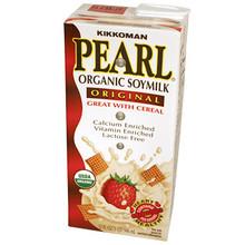 Organic Soymilk Original 32 oz  From Kikkoman