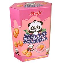 Giant Hello Panda Strawberry 9.1 oz  From Meiji