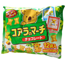 Lotte Chocolate Filled Koala Share Pack 5.5 oz  From Lotte
