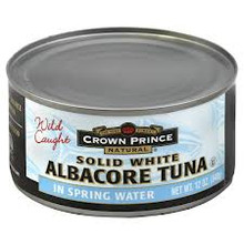 Albacore, 12 of 12 OZ, Crown Prince