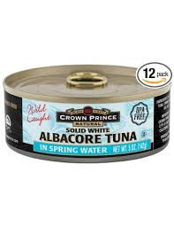 Albacore, 12 of 5 OZ, Crown Prince