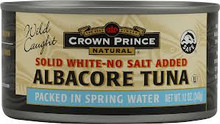 Albacore, NS, 12 of 12 OZ, Crown Prince