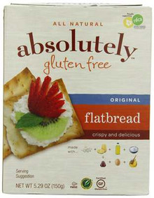 Flatbreads, Original, 12 of 5.29 OZ, Absolutely Gluten Free