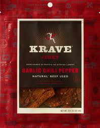 Beef, Garlic Chili Pepper, 8 of 3.25 OZ, Krave