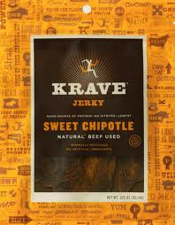 Beef, Sweet Chipotle, 8 of 3.25 OZ, Krave