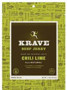 Beef, Chili Lime, 18 of 1.5 OZ, Krave