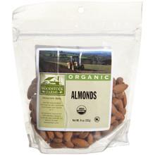 Almonds, 8 of 7.5 OZ, Woodstock