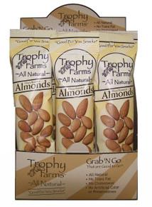 Almonds, 12 of 2 OZ, Trophy Farms