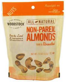 Almonds, Non Pariel Supreme, 8 of 7.5 OZ, Woodstock