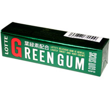 Lotte Green Gum 1.19 oz  From Lotte