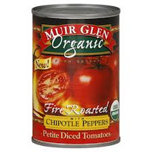 Diced w/Chipotle Peppers, 12 of 14.5OZ, Muir Glen
