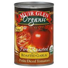 Diced w/Roasted Garlic, 12 of 14.5OZ, Muir Glen