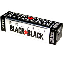 Lotte Black Black Gum (9 stks)  From Lotte