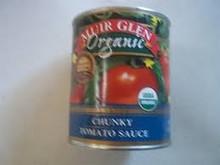 Sauce, Chunky, 12 of 28 OZ, Muir Glen