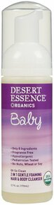 2in1 Hair/Body Foam Cleanser, 5.7 OZ, Desert Essence
