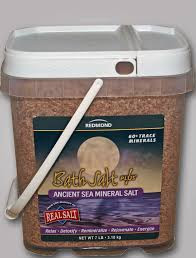 Bath Salt Plus, 7 LB, Redmond Clay