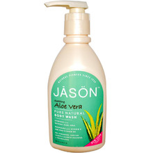 Aloe Vera Satin W/Pump, 30 OZ, Jason Natural Cosmetics
