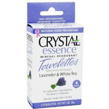 Body Deoderant, Lav/White Tea, 6 CT, Crystal